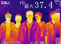 红外热像仪的行业应用—人体测温