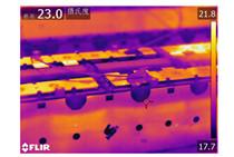 红外热像仪用来红外检测新能源行业的电池包