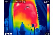 红外热成像技术在垃圾焚烧炉保温层检测方面的应用