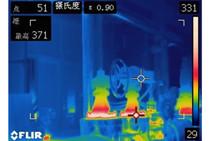 运用红外热成像仪进行管道保温及阀门散热性能检测