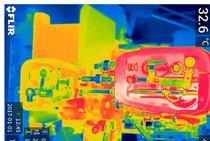 红外热像仪对机械传动及壳体散热情况的红外检测