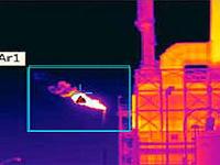 火焰探测在线红外热像仪监测系统