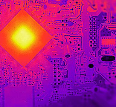 红外热像仪应用于工业科研领域研发
