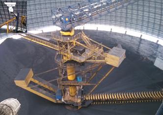 【案例】电厂圆形煤棚加装红外热成像监控系统