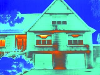 红外热像仪用于建筑节能、渗漏检测服务