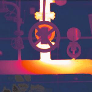 红外热像仪应用于石化、石油过程控制